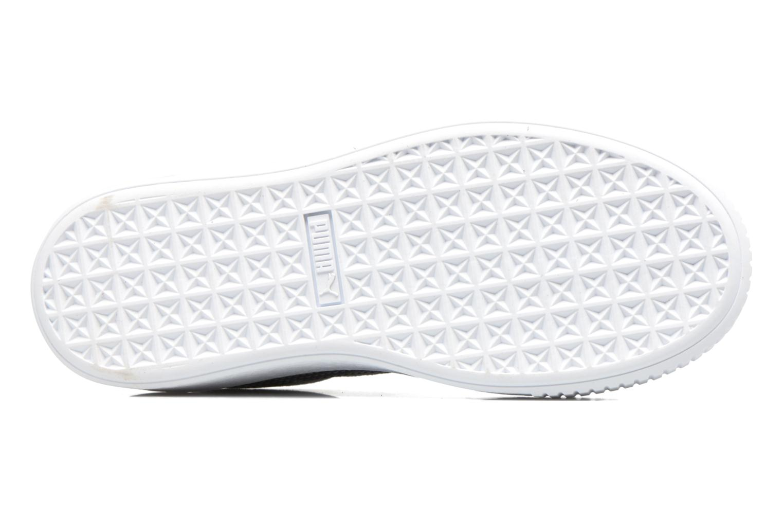 Sneaker Puma Wns Basket Platform Safa grau ansicht von oben