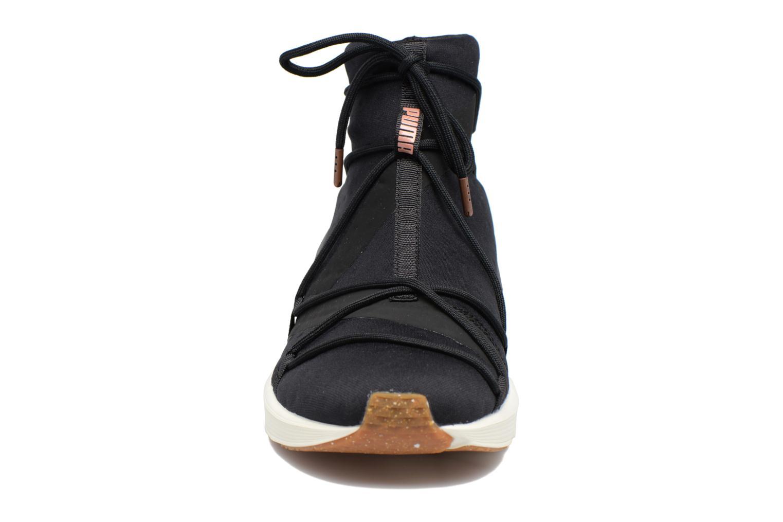 Chaussures de sport Puma Wns Fierce Rope Noir vue portées chaussures