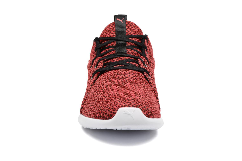Chaussures de sport Puma Carson 2 Knit Rouge vue portées chaussures