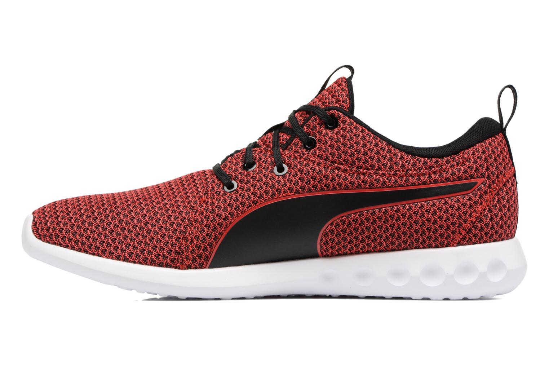 Chaussures de sport Puma Carson 2 Knit Rouge vue face
