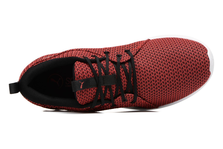 Chaussures de sport Puma Carson 2 Knit Rouge vue gauche