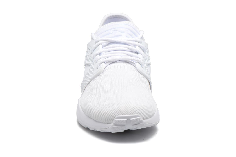 Baskets Puma Blaze Cage Mono Blanc vue portées chaussures