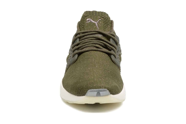Baskets Puma Blaze Cage Evoknit Vert vue portées chaussures