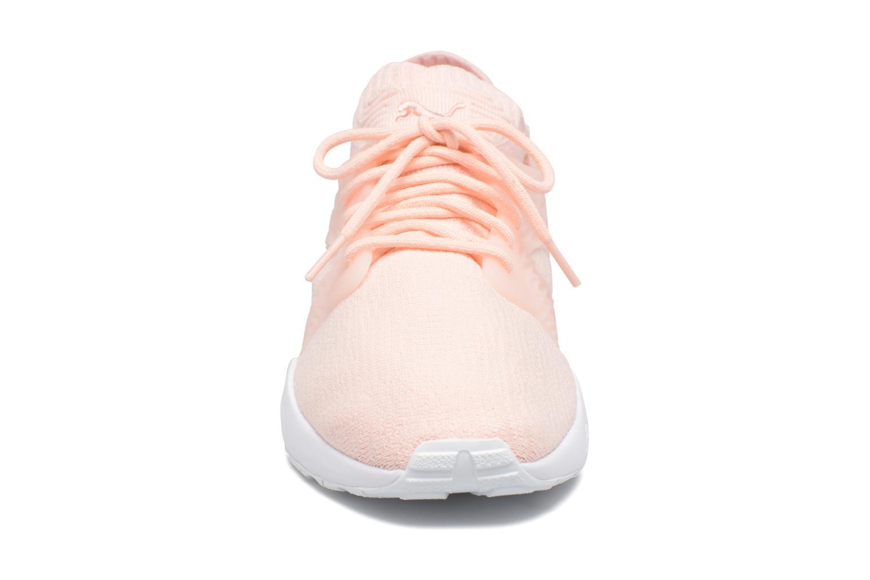 Baskets Puma Wns Blaze Cage Knit Rose vue portées chaussures