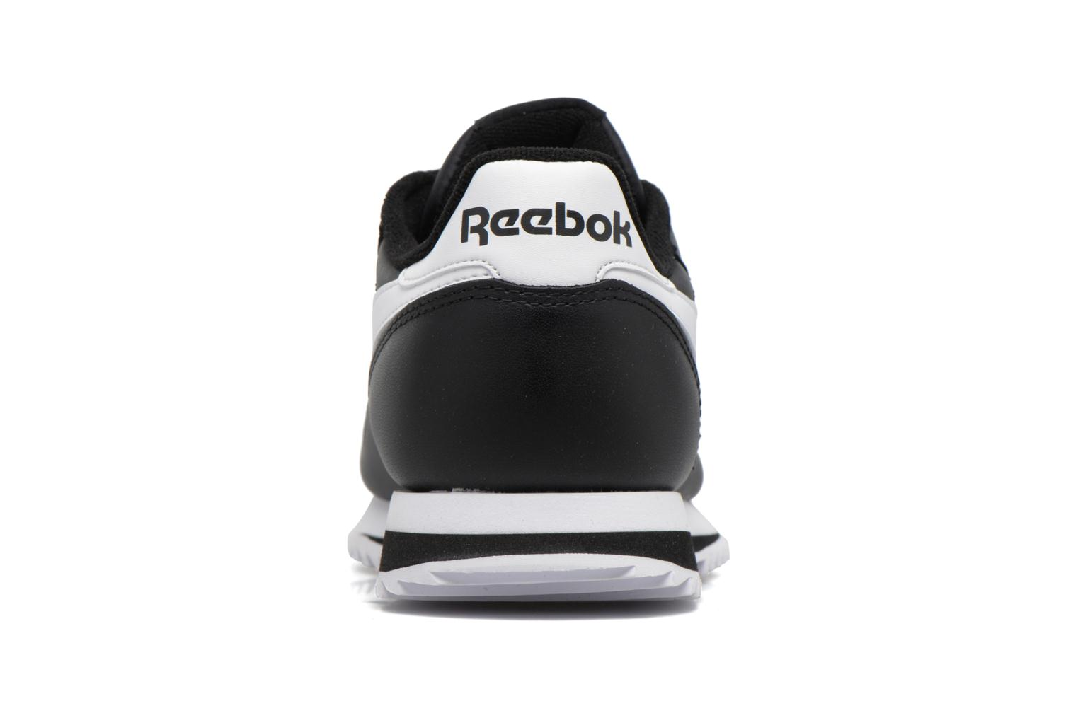 Baskets Reebok Cl Leather Ripple L Noir vue droite