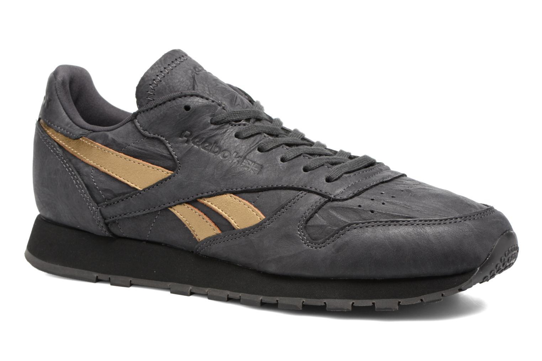 Sneakers Reebok Cl Leather Tu Grijs detail