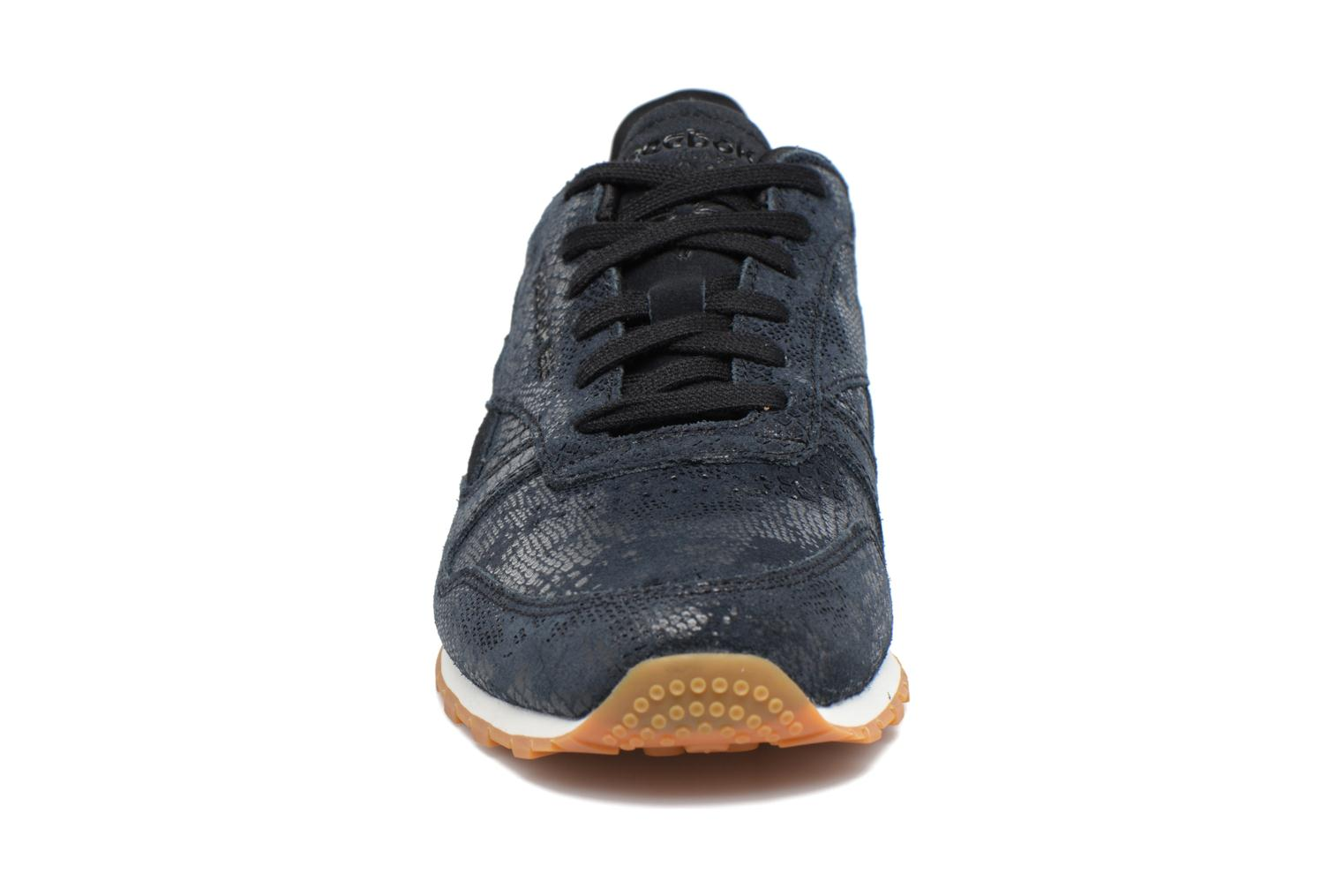 Cl Lthr Clean Exoti Black/Chalk/Gum