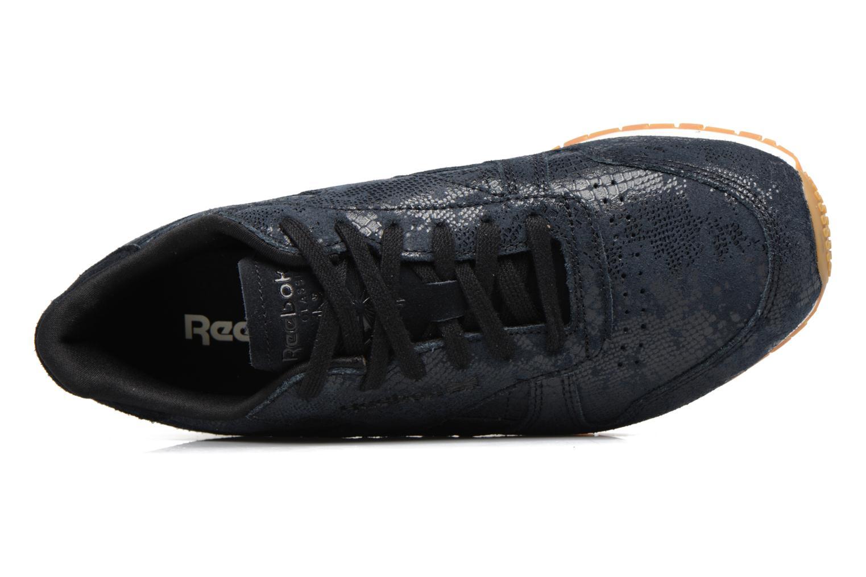 Sneakers Reebok Cl Lthr Clean Exoti Zwart links