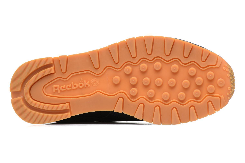 Sneakers Reebok Cl Lthr Clean Exoti Zwart boven