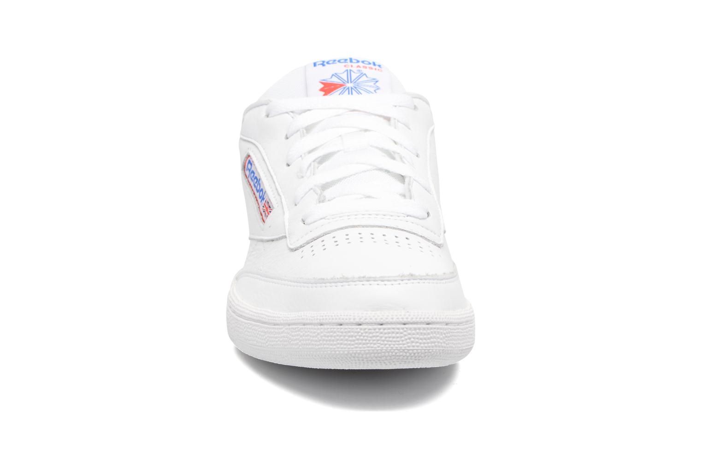 Club C 85 So White/Lgh Solid Grey/Vital Blue/Prml Red/Blk