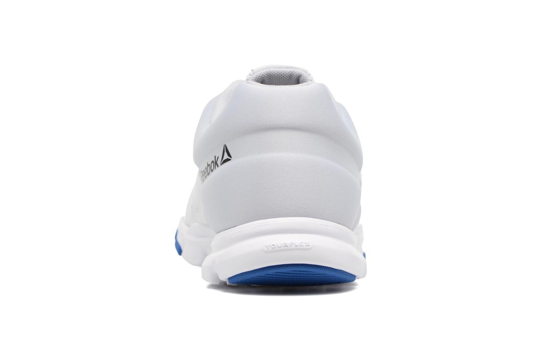 Chaussures de sport Reebok Yourflex Train 9.0 Blanc vue droite