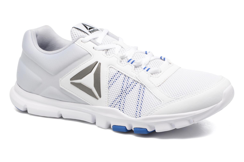 Chaussures de sport Reebok Yourflex Train 9.0 Blanc vue détail/paire