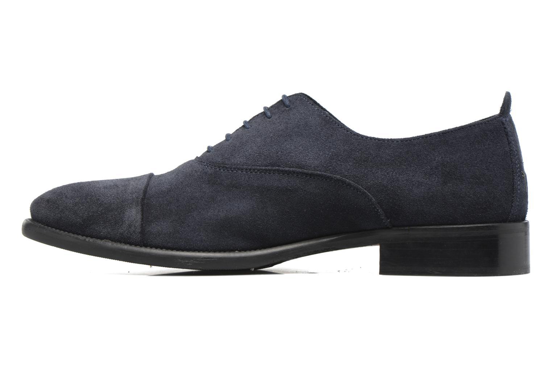 Chaussures à lacets Marvin&Co Delloni Bleu vue face