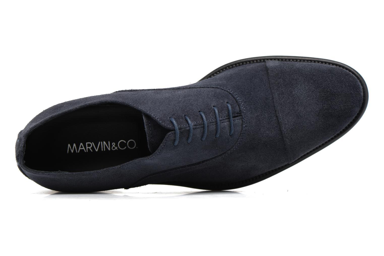 Chaussures à lacets Marvin&Co Delloni Bleu vue gauche
