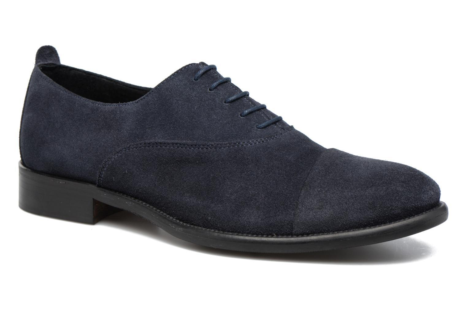 Veterschoenen Marvin&Co Delloni Blauw detail