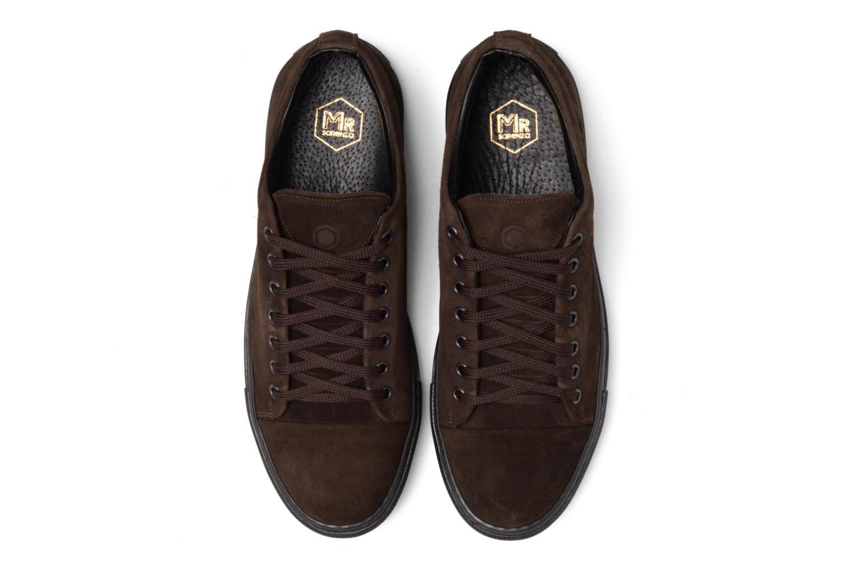 Baskets Mr SARENZA Doubia Marron vue portées chaussures