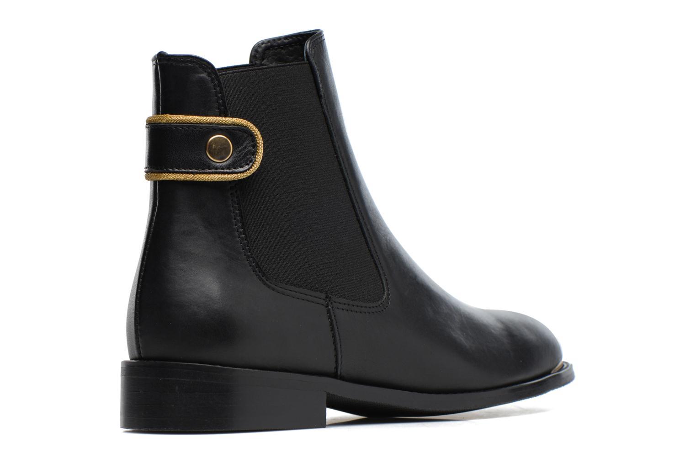 Boots Camp #19 Cuir Lisse Noir