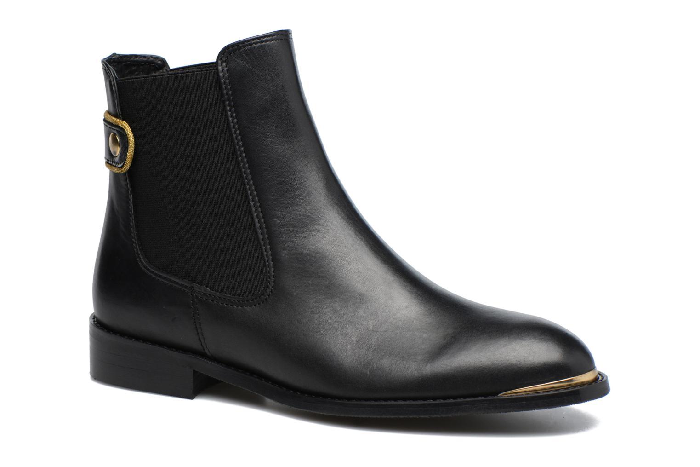 Carioca Crew Boots #3 Cuir Lisse Noir