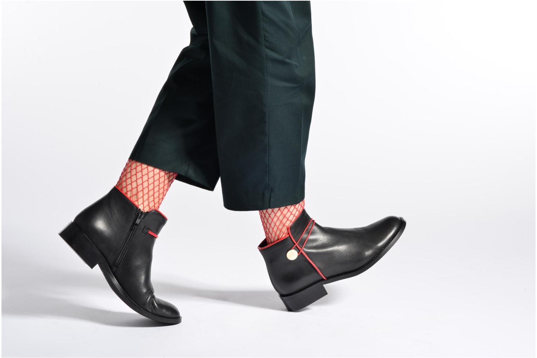 Bottines et boots Made by SARENZA Boots Camp #20 Noir vue bas / vue portée sac