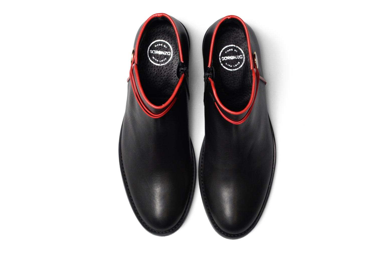 Boots Camp #20 Cuir Lisse Noir