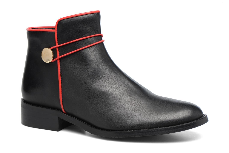 Bottines et boots Made by SARENZA Boots Camp #20 Noir vue droite