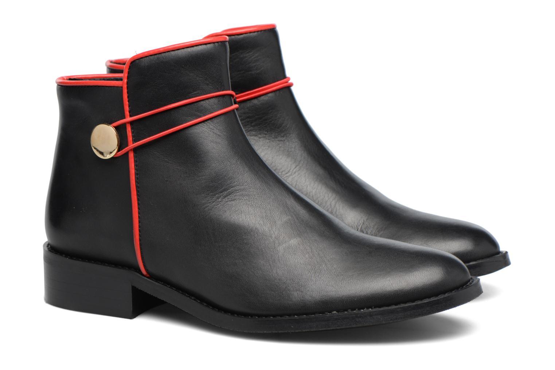 Bottines et boots Made by SARENZA Boots Camp #20 Noir vue derrière