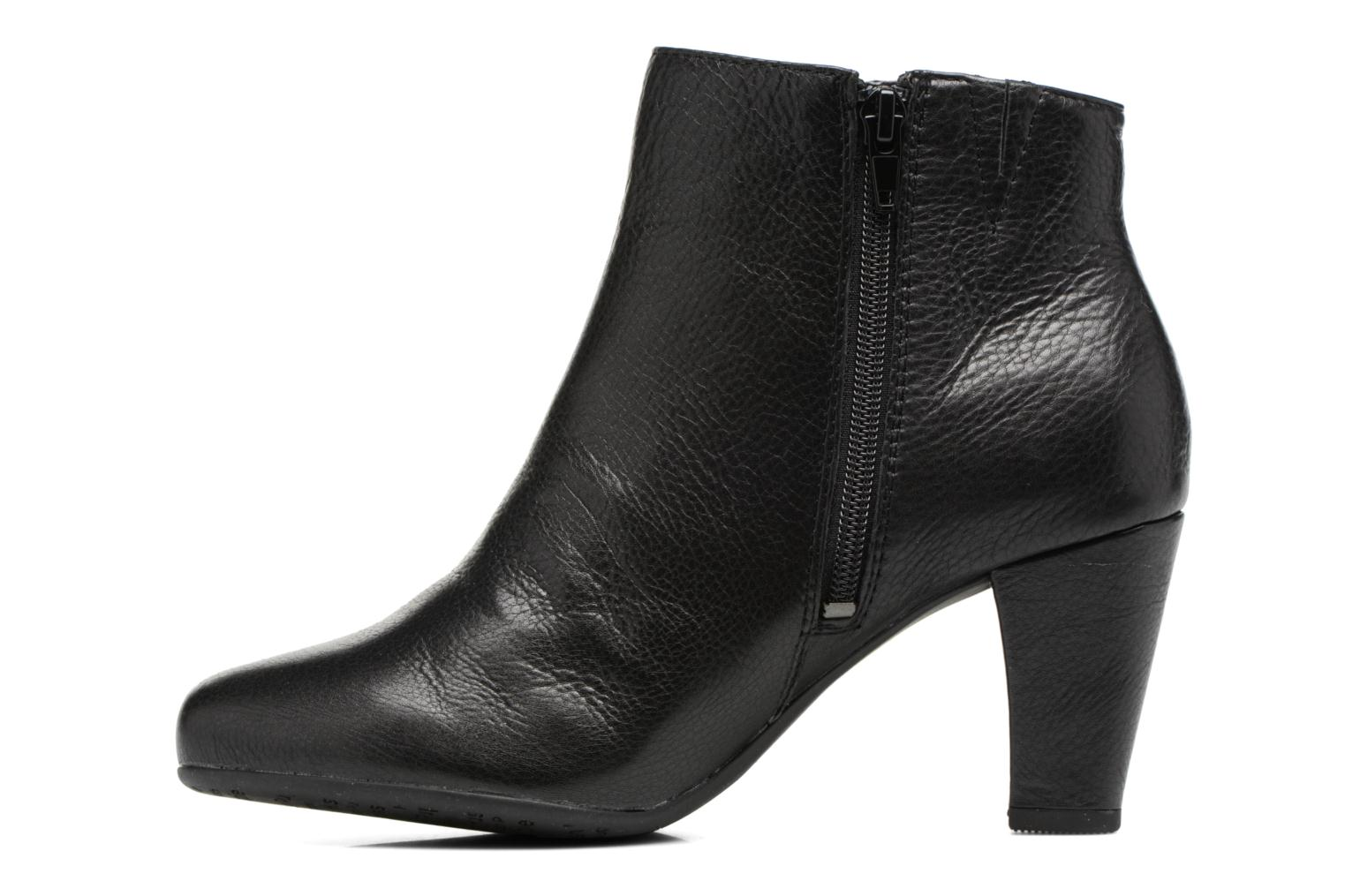 Ankle boots Hush Puppies Morning Black front view