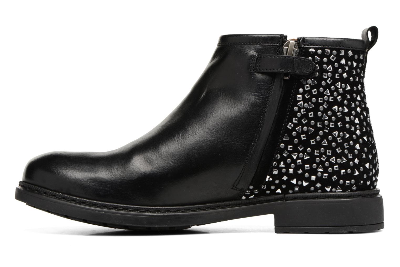 Bottines et boots Adolie Picpus Stone Noir vue face