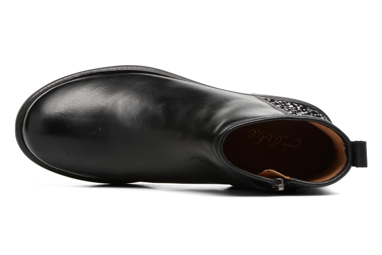 Bottines et boots Adolie Picpus Stone Noir vue gauche