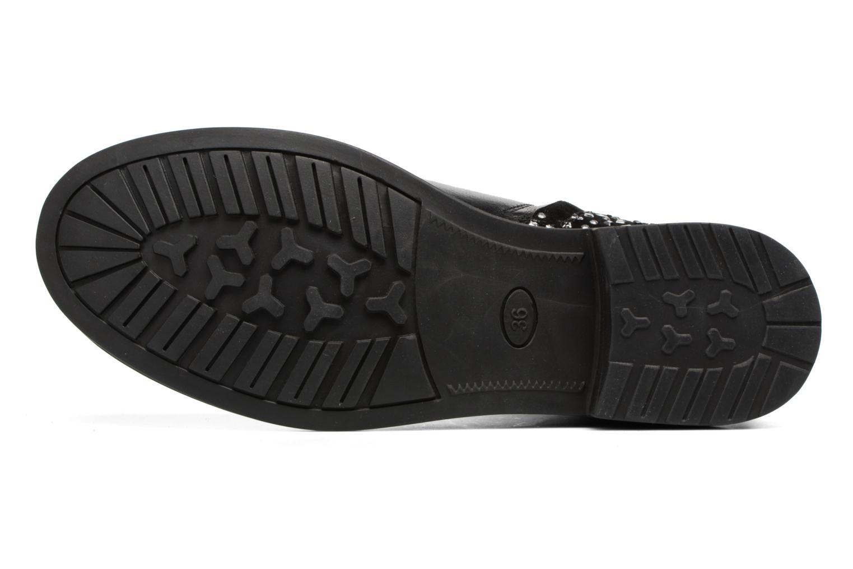 Bottines et boots Adolie Picpus Stone Noir vue haut