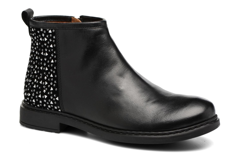 Bottines et boots Adolie Picpus Stone Noir vue détail/paire