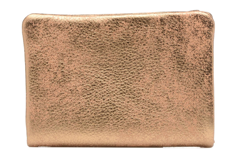 Petite Maroquinerie Sabrina Porte-monnaie Collector Ninon Or et bronze vue face