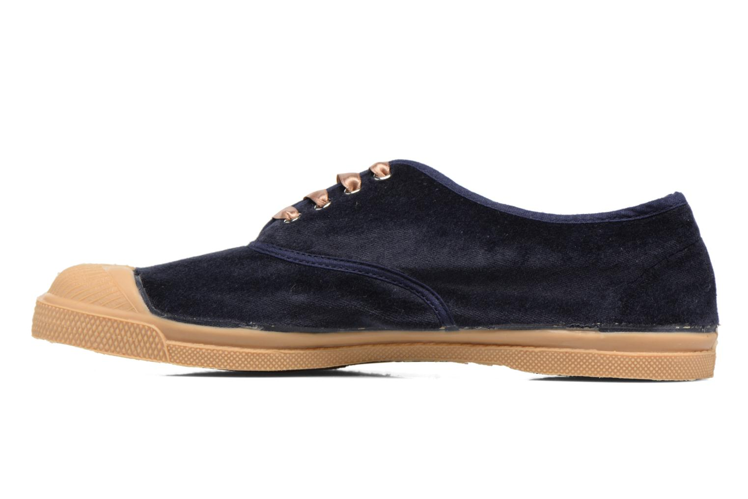 Trainers Bensimon Tennis Velvet Blue front view