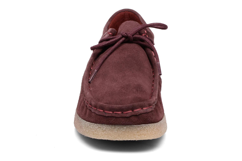 Chaussures à lacets Bensimon Derbys Casual Bordeaux vue portées chaussures