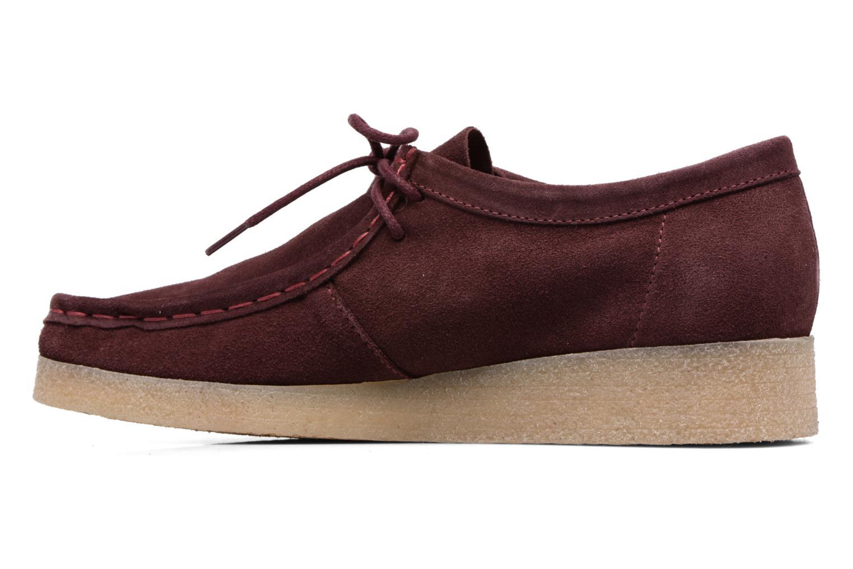 Chaussures à lacets Bensimon Derbys Casual Bordeaux vue face