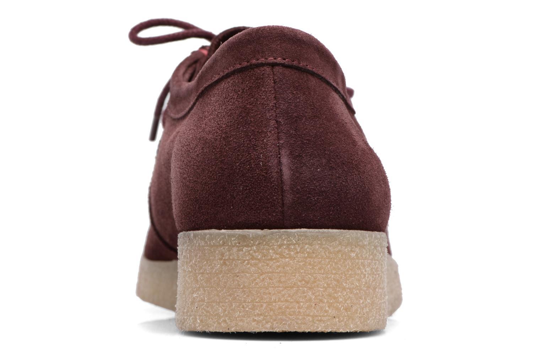 Chaussures à lacets Bensimon Derbys Casual Bordeaux vue droite