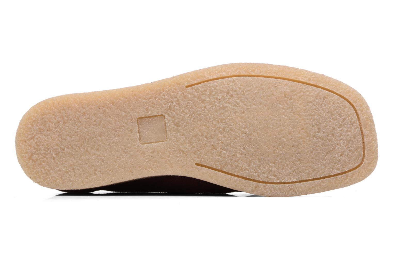 Chaussures à lacets Bensimon Derbys Casual Bordeaux vue haut