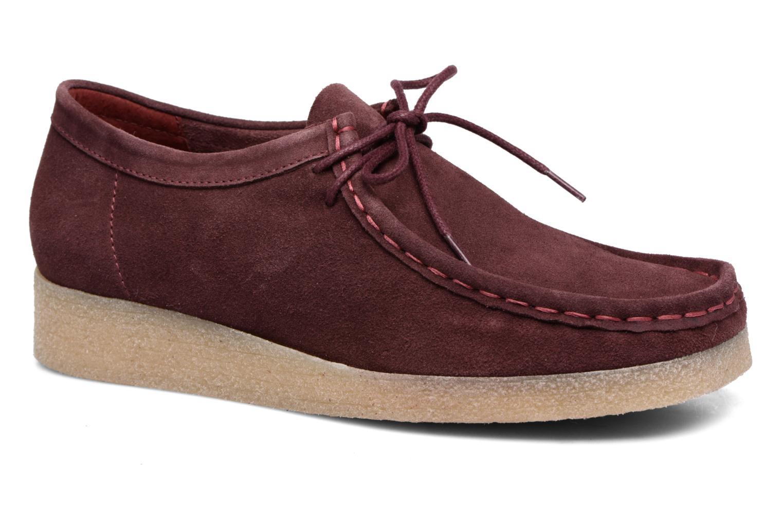 Chaussures à lacets Bensimon Derbys Casual Bordeaux vue détail/paire