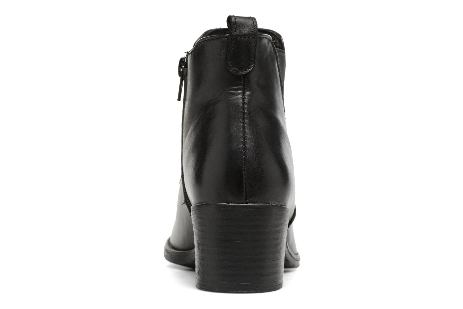 Ankle boots Tamaris Circé Black view from the right