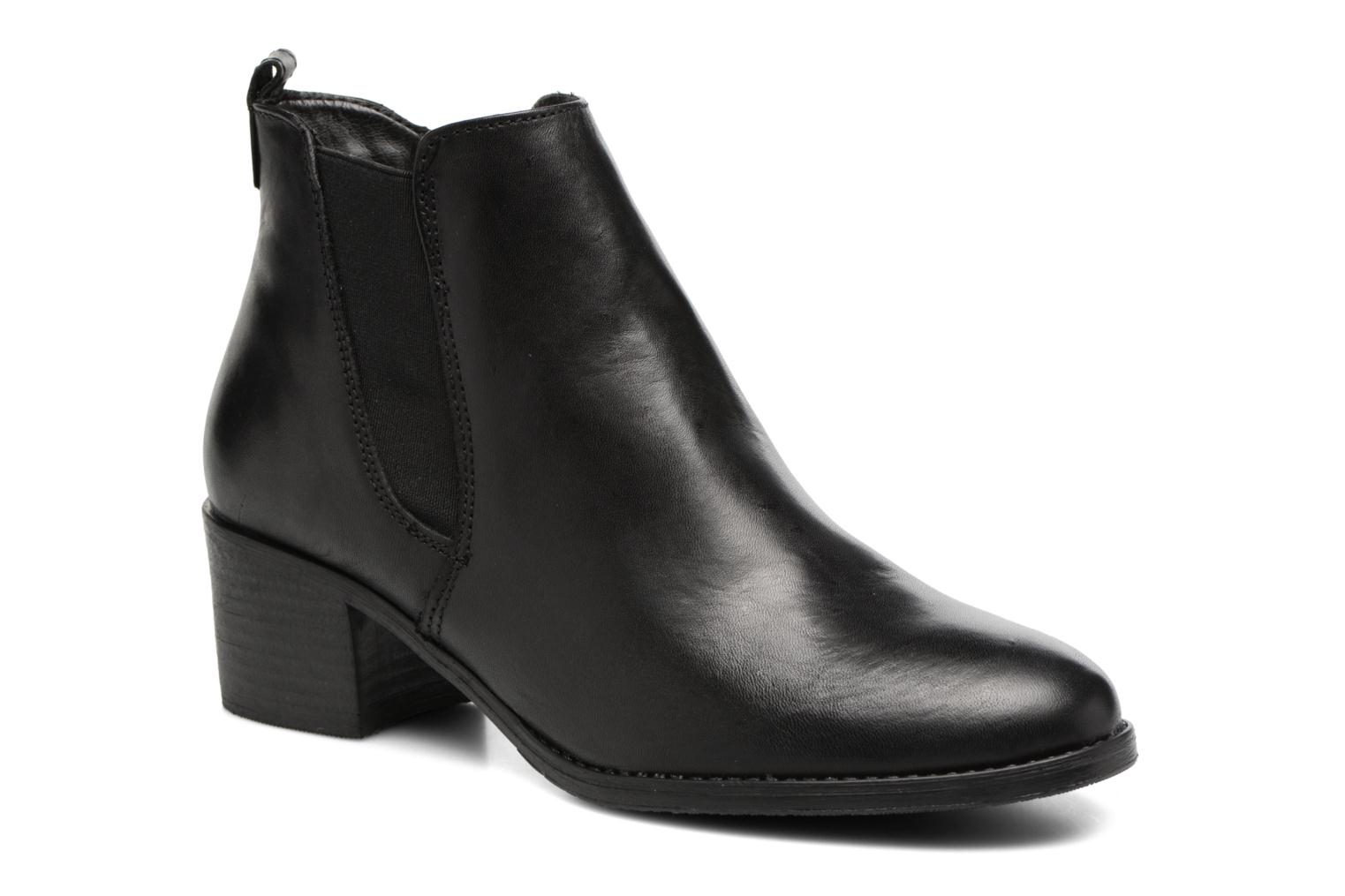 Ankle boots Tamaris Circé Black detailed view/ Pair view