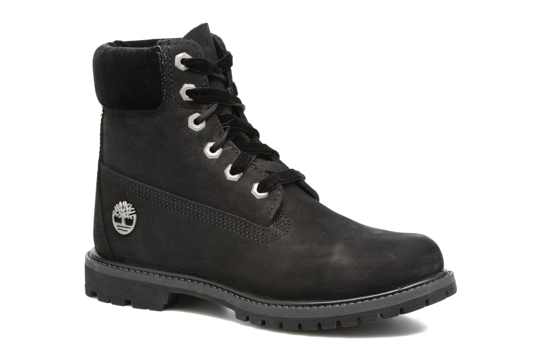 Bottines et boots Timberland 6in Premium WP Boot L/F- W Noir vue détail/paire