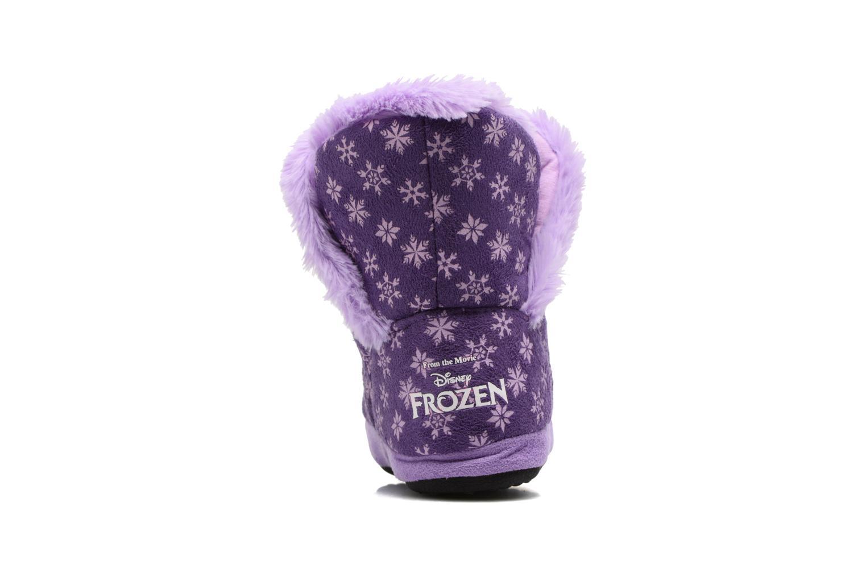 Chaussons Frozen Stracie Violet vue droite