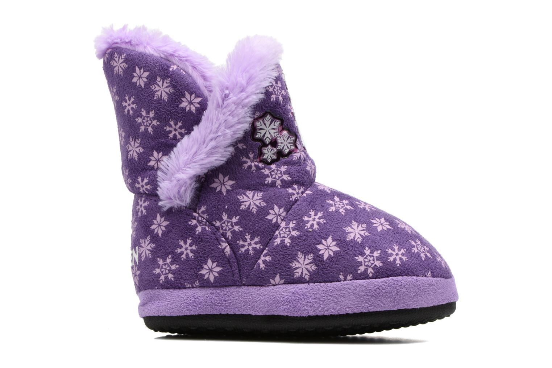 Chaussons Frozen Stracie Violet vue derrière