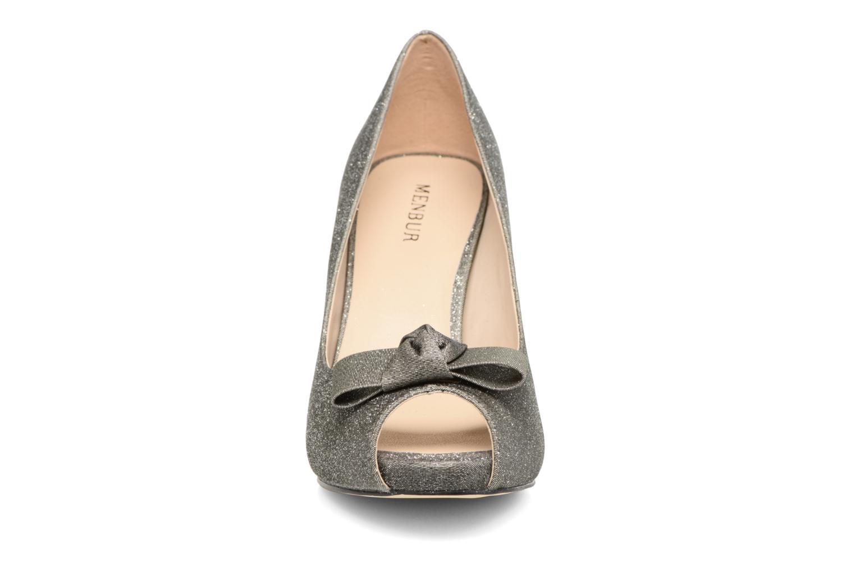 Escarpins Menbur Coulanges Gris vue portées chaussures