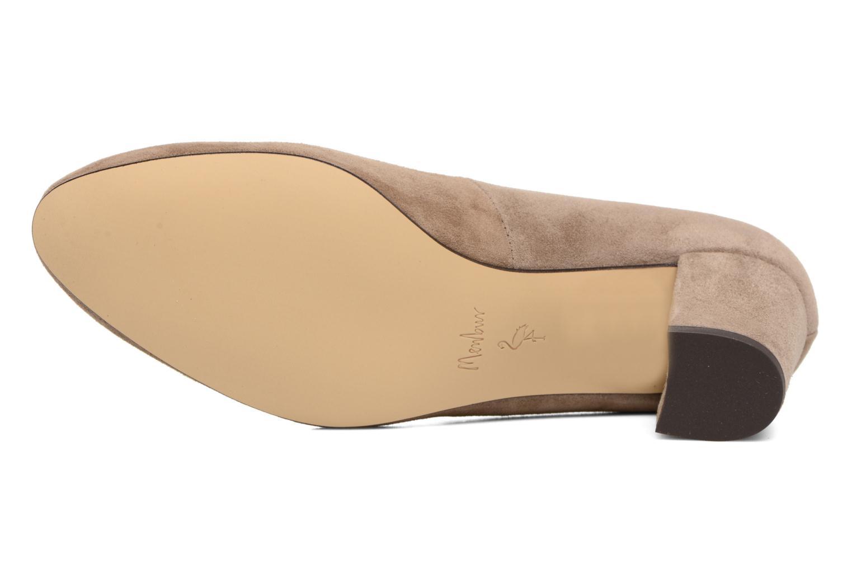 Zapatos de tacón Menbur Buren Beige vista de arriba