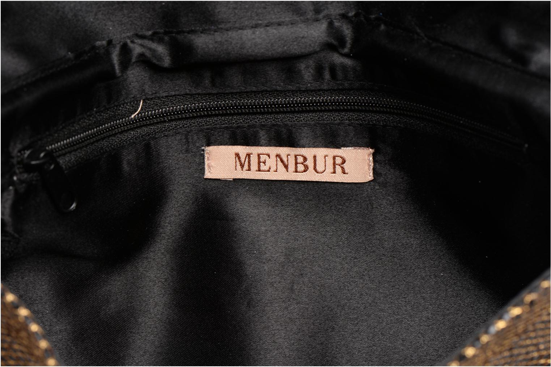 Petite Maroquinerie Menbur Fucini Or et bronze vue derrière