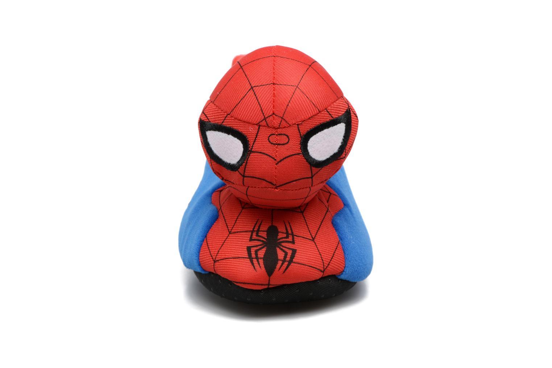 Hausschuhe Spiderman S24967 Spiderman blau schuhe getragen