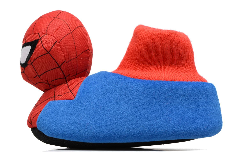 Hausschuhe Spiderman S24967 Spiderman blau ansicht von vorne