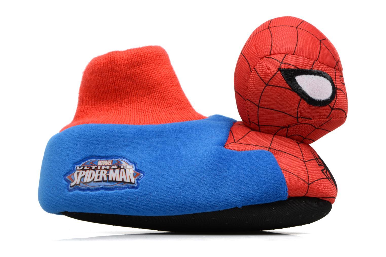 Hausschuhe Spiderman S24967 Spiderman blau ansicht von hinten