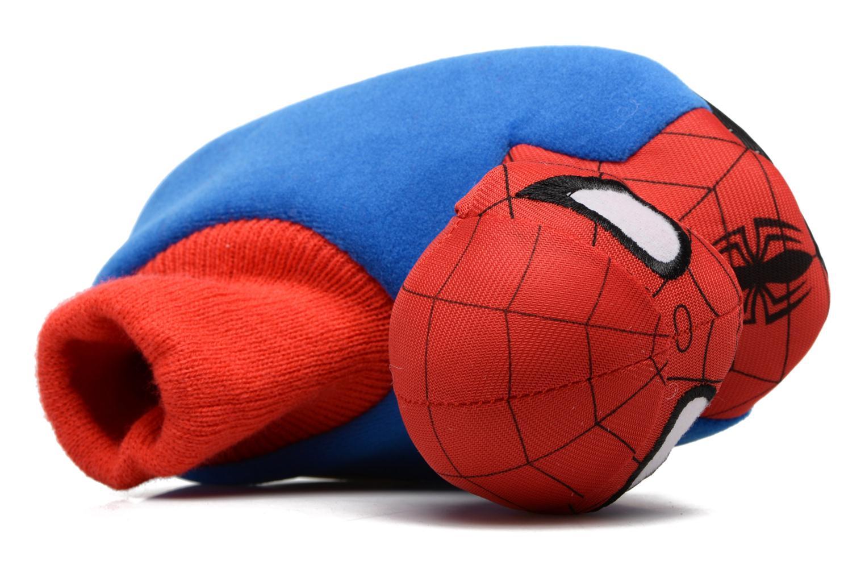 Hausschuhe Spiderman S24967 Spiderman blau ansicht von links